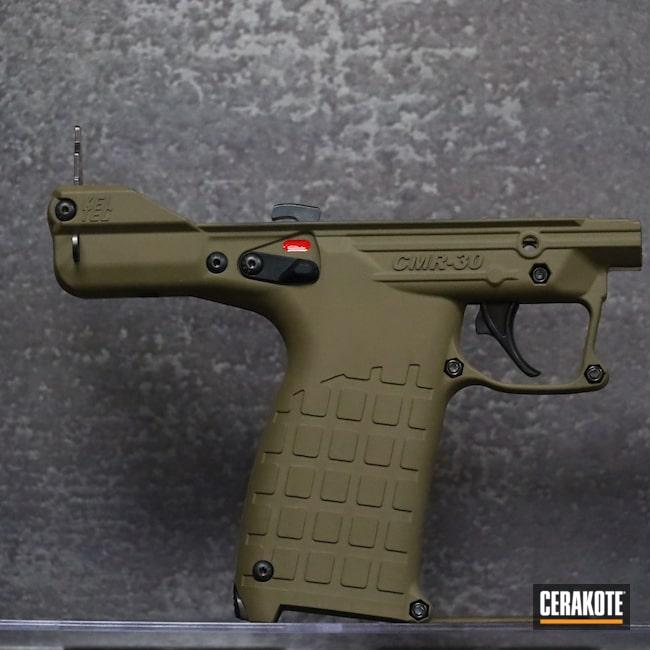 Cerakoted: S.H.O.T,CMR30,KelTec,Pistol,22 Mag,GLOCK® FDE H-261,Handgun