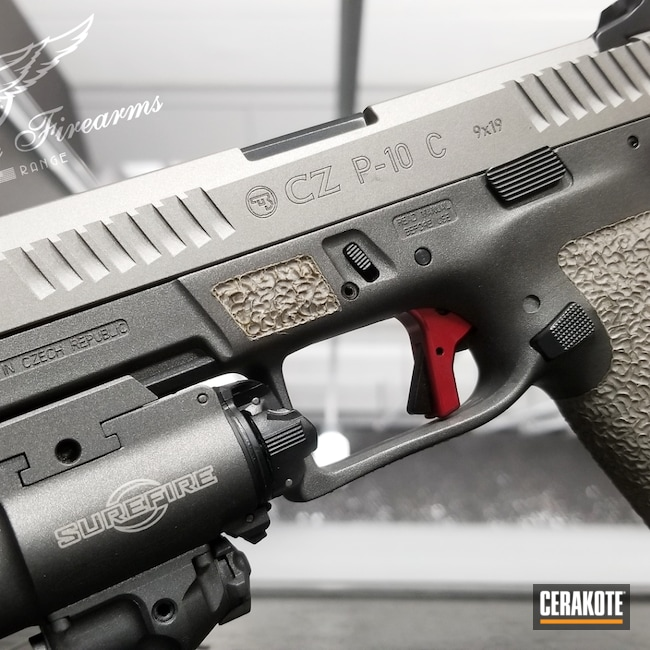 Cerakoted: S.H.O.T,Stainless H-152,CZ,.9