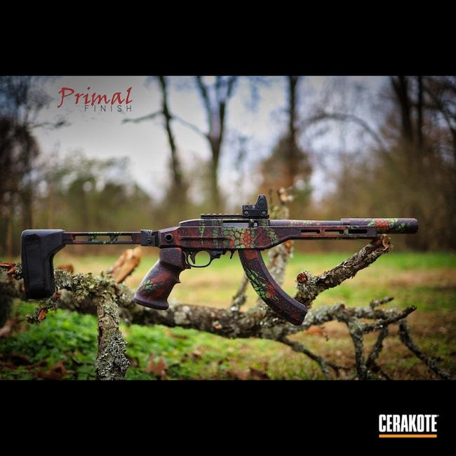 Cerakoted: S.H.O.T,Blood Splatter,Ruger,Ruger Charger,Zombie Green H-168,USMC Red H-167,SB Tactical,10/22,Graphite Black H-146,Ruger 10/22,Gatorskin Camo,Pistol Brace,Charger