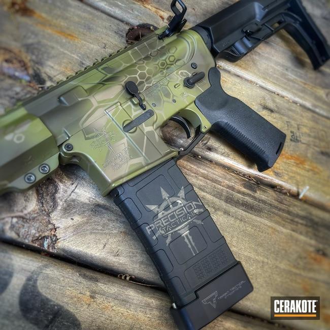 Cerakoted: S.H.O.T,Rifle,Kryptek,MAGPUL® FLAT DARK EARTH H-267,Precision Tactical,Patriot Brown H-226,O.D. Green H-236,Noveske Bazooka Green H-189,5.56