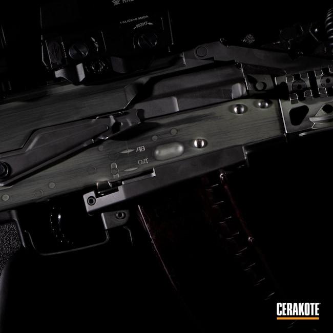 Cerakoted: S.H.O.T,Jungle E-140,Distressed,Airsoft,Smoke E-120,Weathered,AK-74
