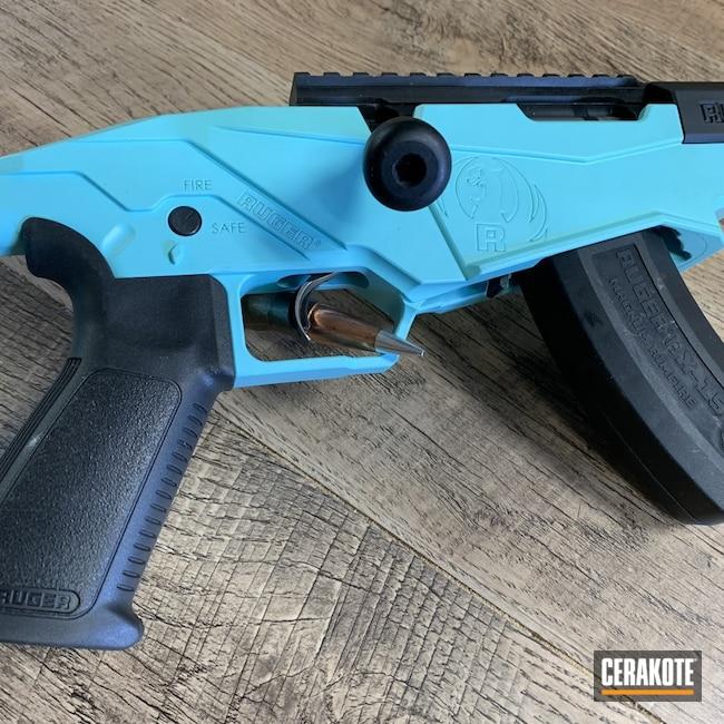 Cerakoted: S.H.O.T,Rifle,Precision Rifle,Ruger Precision,Robin's Egg Blue H-175,Ruger,Graphite Black H-146,Rimfire,17 HMR,RPR