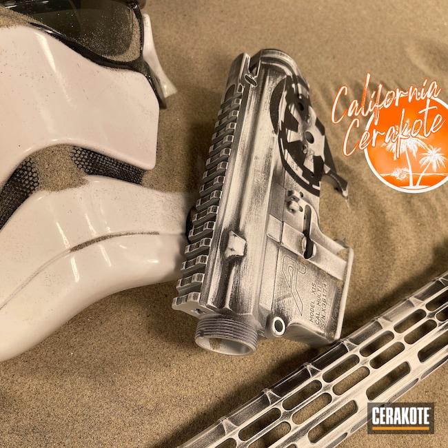 Cerakoted: S.H.O.T,Stormtrooper,Graphite Black H-146,Stormtrooper White H-297,Christopher Miller,Star Wars,california cerakote