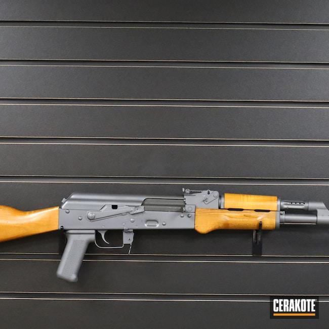 Cerakoted: S.H.O.T,Rifle,Sniper Grey H-234,Century,7.62x39,AK