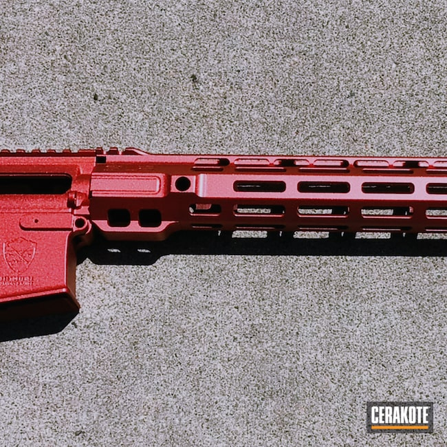 Cerakoted: S.H.O.T,Titan,Graphite Black H-146,AR,HIGH GLOSS CERAMIC CLEAR MC-160,AR Build,GunCandy
