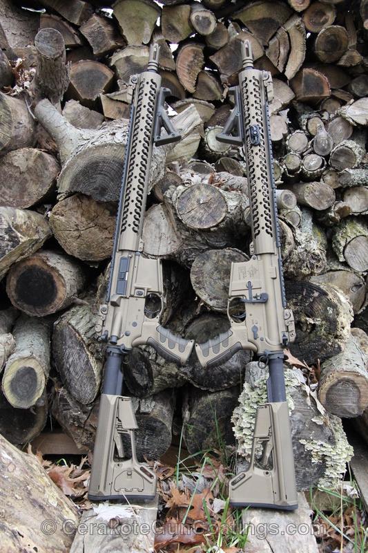 Cerakoted: Graphite Black H-146,Burnt Bronze H-148,Tactical Rifle,Black Bronze