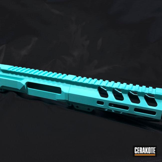 Cerakoted: S.H.O.T,Robin's Egg Blue H-175,AR Rifle