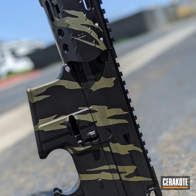 Cerakoted: S.H.O.T,Graphite Black H-146,AR,O.D. Green H-236,AR Build,AR-15