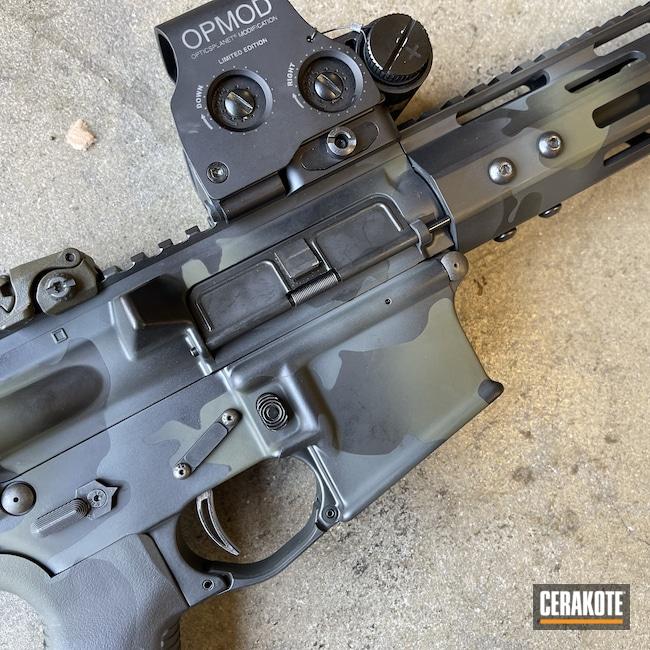 Cerakoted: S.H.O.T,Graphite Black H-146,Armor Black H-190,.223,O.D. Green H-236,SIG™ DARK GREY H-210,AR Build,AR-15