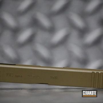 Glock 19c Slide Cerakoted Using Glock® Fde