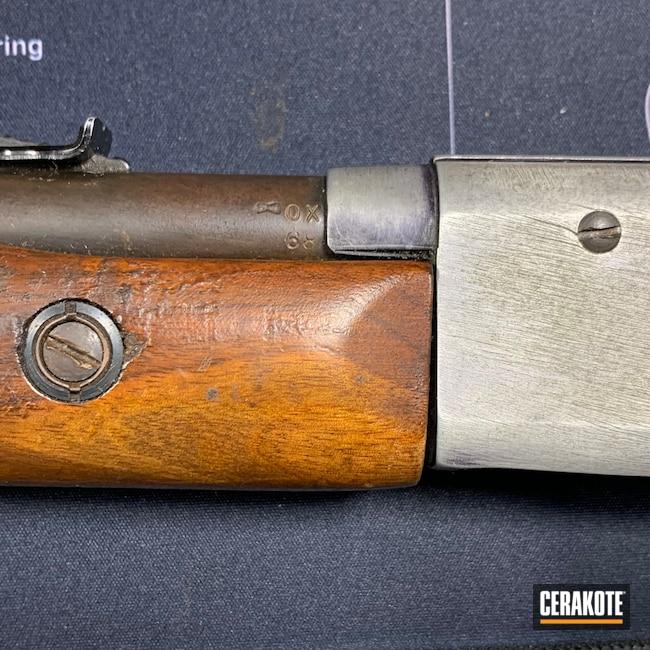 Cerakoted: S.H.O.T,Graphite Black H-146,.22LR,Remington