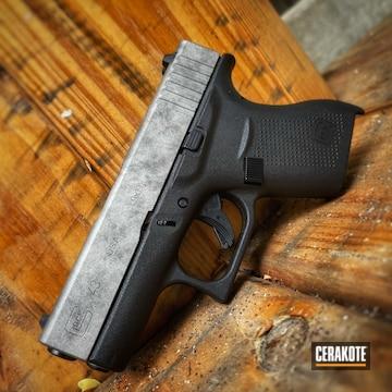 Glock 43 Cerakoted Using Titanium And Tungsten