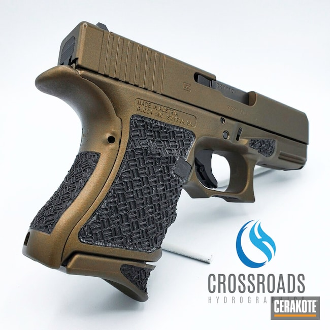 Cerakoted: S.H.O.T,Glock,Midnight Bronze H-294