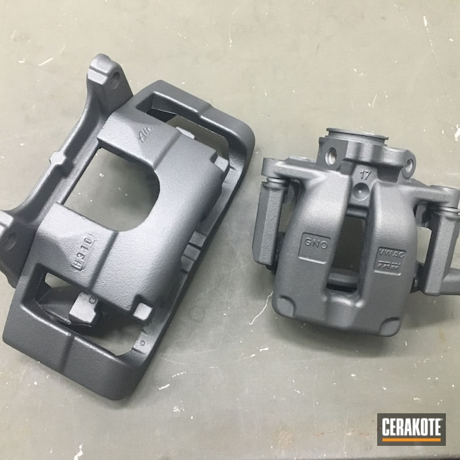Cerakoted: Car Parts,Brake Calipers,TUNGSTEN C-111,Automotive