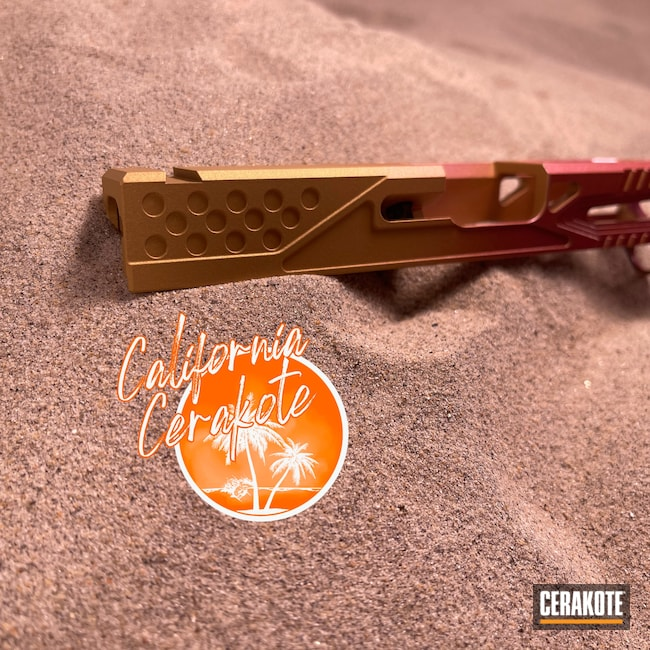 Cerakoted: S.H.O.T,Christopher Miller,Gold H-122,california cerakote