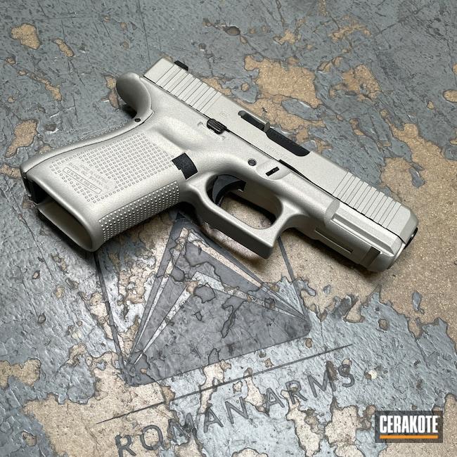 Cerakoted: S.H.O.T,Shimmer Aluminum H-158,Pistol,Glock,Handguns,Daily Carry,EDC,Handgun