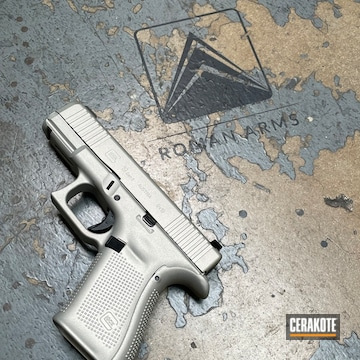 Glock 19 Cerakoted Using Shimmer Aluminum