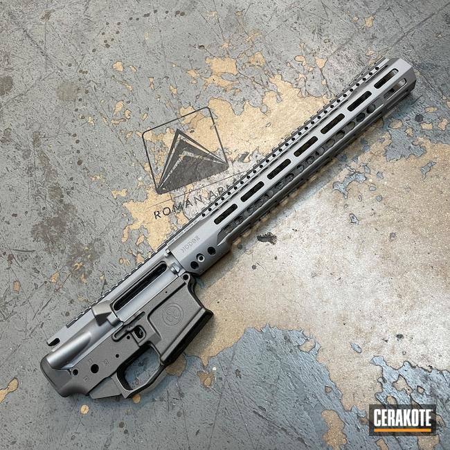 Cerakoted: S.H.O.T,Hodge Defense,S-Lock,Hodgeflauge,Upper / Lower / Handguard,Mod2,Tungsten H-237,Tactical Rifle,Tactical Grey H-227,Titanium E-250,Wedge Lock,AR15 Builders Kit,Bright Nickel H-157