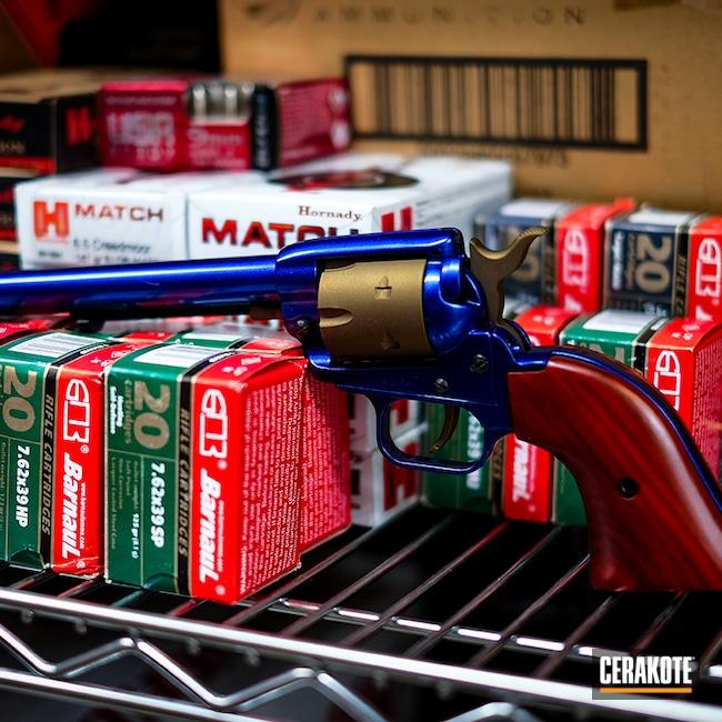 Cerakoted: S.H.O.T,Bronze,Revolver,Burnt Bronze H-148,Blue,Pistol,GunCandy,Handgun