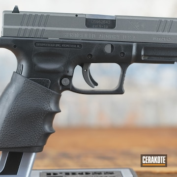 Springfield Armory Xd Pistol Cerakoted Using Tungsten