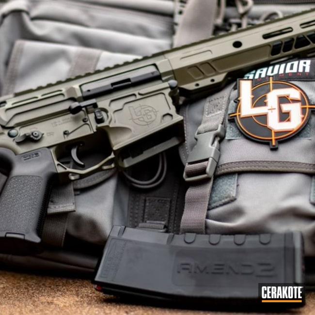 Cerakoted: S.H.O.T,MOSS E-210,5.56,AR-15