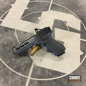 Glock 17 Cerakoted Using Glock® Grey And Blackout