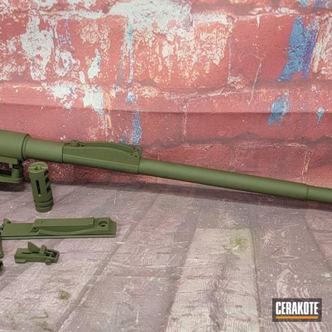 Cerakoted: S.H.O.T,Sniper Green H-229,Mauser
