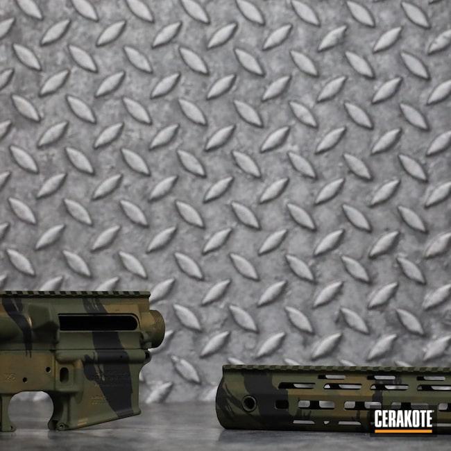 Cerakoted: S.H.O.T,Vietnam Tiger Stripe Camo,Graphite Black H-146,Burnt Bronze H-148,Multi,O.D. Green H-236,Umbrella Corp,AR Build,AR-15