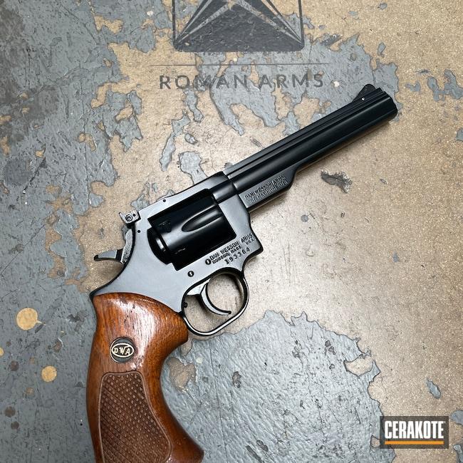 Cerakoted: Midnight E-110,BLACKOUT E-100,Revolver,Restoration,Refinished,Handguns,Refinish,Dan Wesson,Handgun