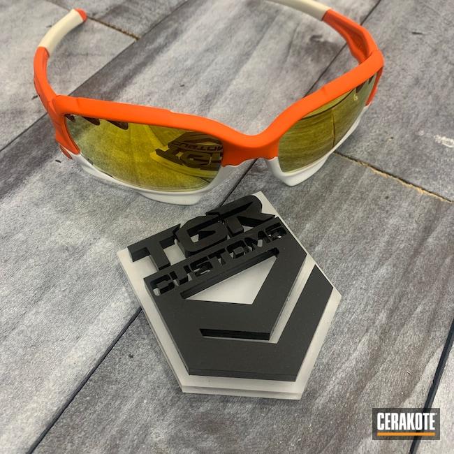 Cerakoted: S.H.O.T,Sunglasses,Oakley,HI-VIS ORANGE H-346