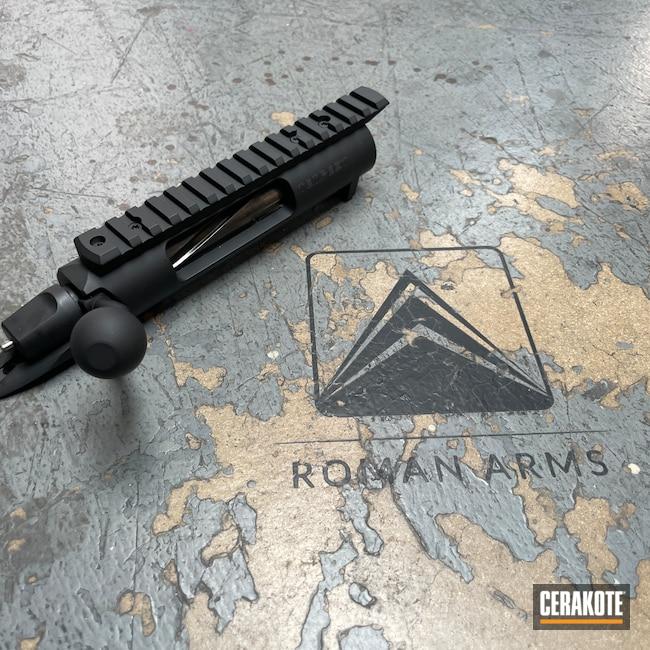 Cerakoted: S.H.O.T,Bolt Action Rifle,Receiver,Bolt Action,Hunting Rifle,Precision,Bolt,GA Precision,Armor Black H-190,Long Range Rifle,Long Range Tactical Rifle