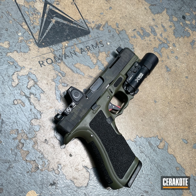 Cerakoted: Boogeyman,S.H.O.T,Custom Glock,Glock Slide,Stippled,Pistol,Glock 17,SIG™ DARK GREY H-210,MultiCam Black,Urban Camo,Defkon3,9mm,Custom,MultiCam,Sniper Green H-229,Graphite Black H-146,Camo,Glock,Machined Slide,Custom Glock Slide,Handguns