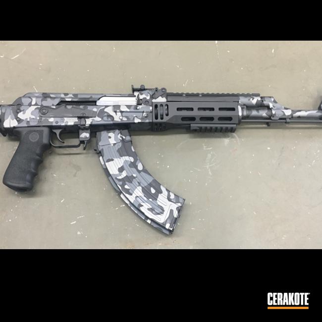 Cerakoted: S.H.O.T,Sniper Grey H-234,Graphite Black H-146,AK-47,Tactical Grey H-227,Urban Camo