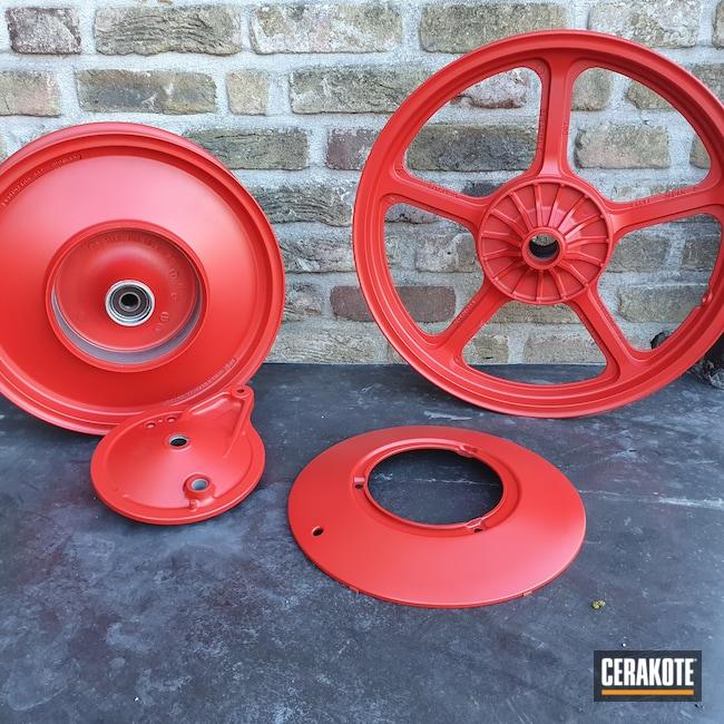 Cerakoted: USMC Red H-167,Automotive,Motorcycle