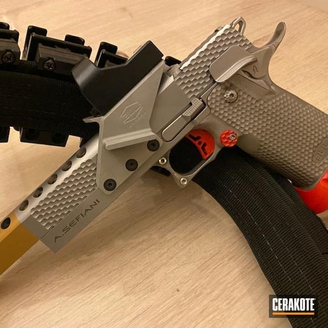 Cerakoted: S.H.O.T,9mm,Bull,USMC Red H-167