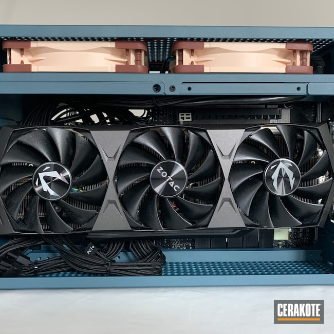 Cerakoted: Computer,Blue Titanium H-185