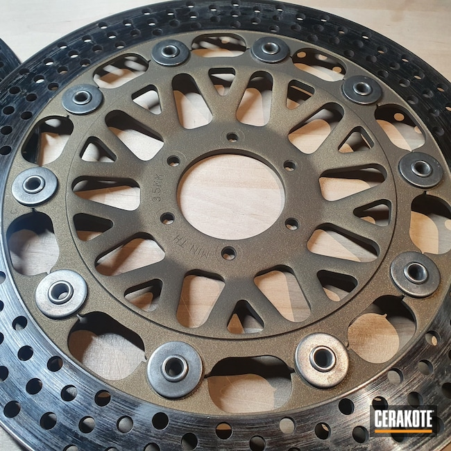 Cerakoted: Burnt Bronze H-148,Automotive,Motorcycle