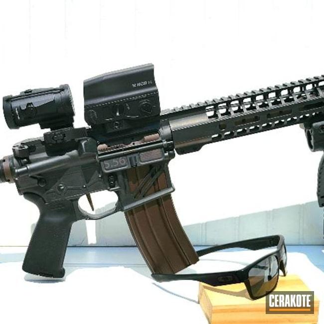 Cerakoted: S.H.O.T,Battleworn,Graphite Black H-146,VORTEX® BRONZE H-293,Tungsten H-237,.223,5.56,.300 Blackout,AR-15