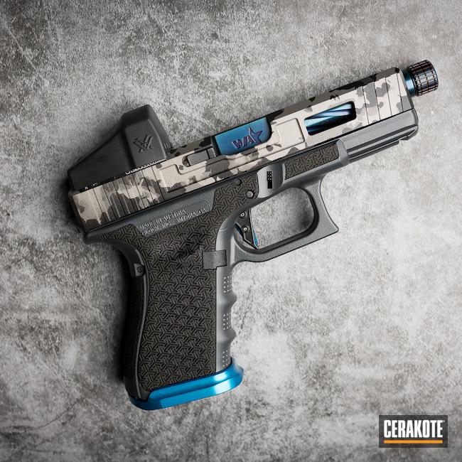 Cerakoted: S.H.O.T,Sniper Grey H-234,Tungsten H-237,Titanium H-170