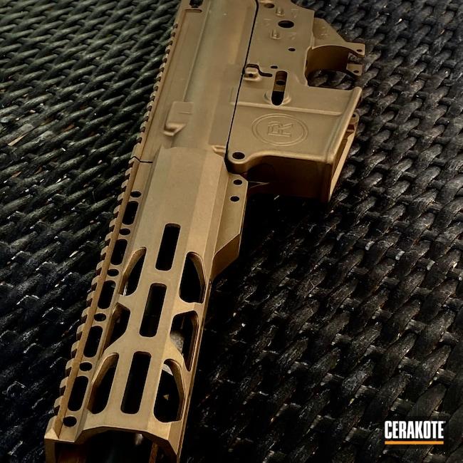 Cerakoted: S.H.O.T,Burnt Bronze H-148,SBR,AR-15