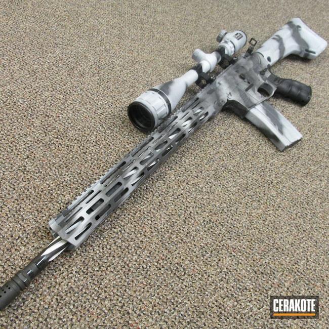 Cerakoted: S.H.O.T,Sniper Grey H-234,FROST H-312,Armor Black H-190,Winter Colors,AR-15