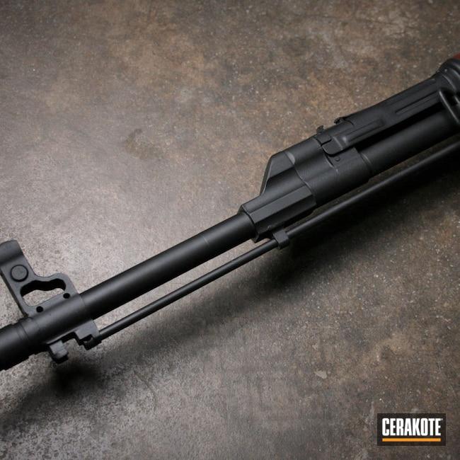 Cerakoted: S.H.O.T,Rifles,Custom,Graphite Black H-146,AK