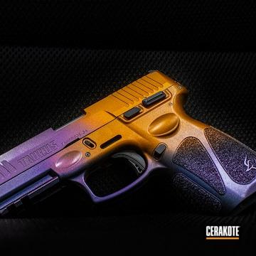 Taurus G3 Pistol Cerakoted Using High Gloss Armor Clear