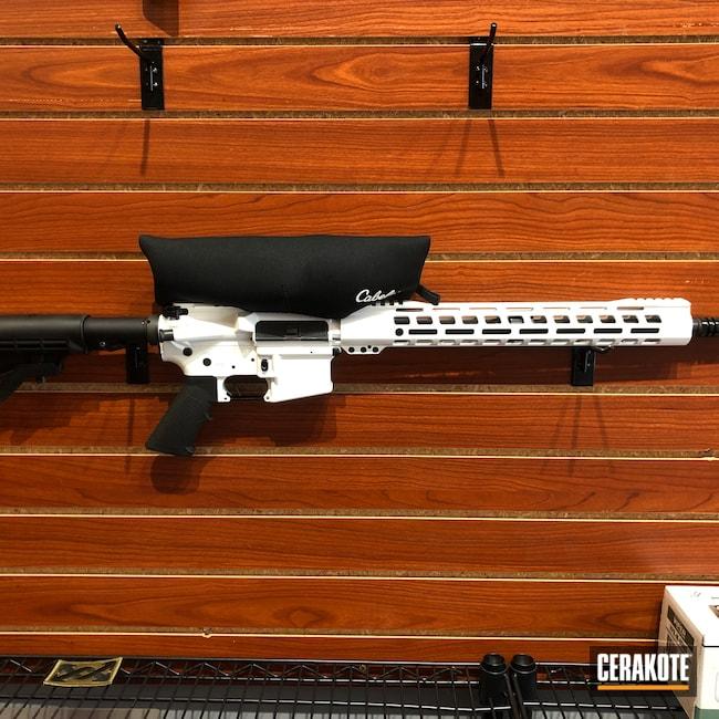 Cerakoted: Bright White H-140,S.H.O.T,AR Custom Build,AR Build,AR-15