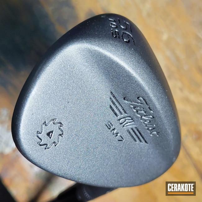 Cerakoted: Golf Wedges,Golf,Titleist,Sports Equipment,Tungsten H-237,Irons