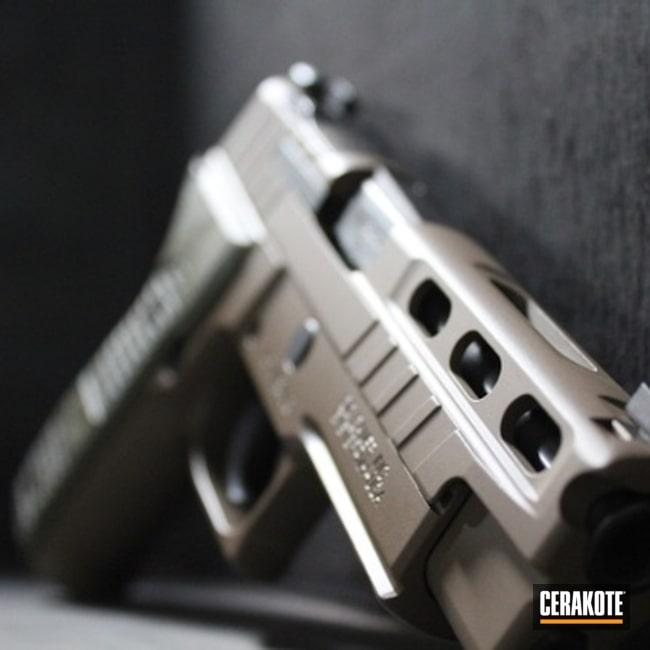Cerakoted: S.H.O.T,9mm,Sig P226,Sig Sauer,Flat Dark Earth H-265,P226