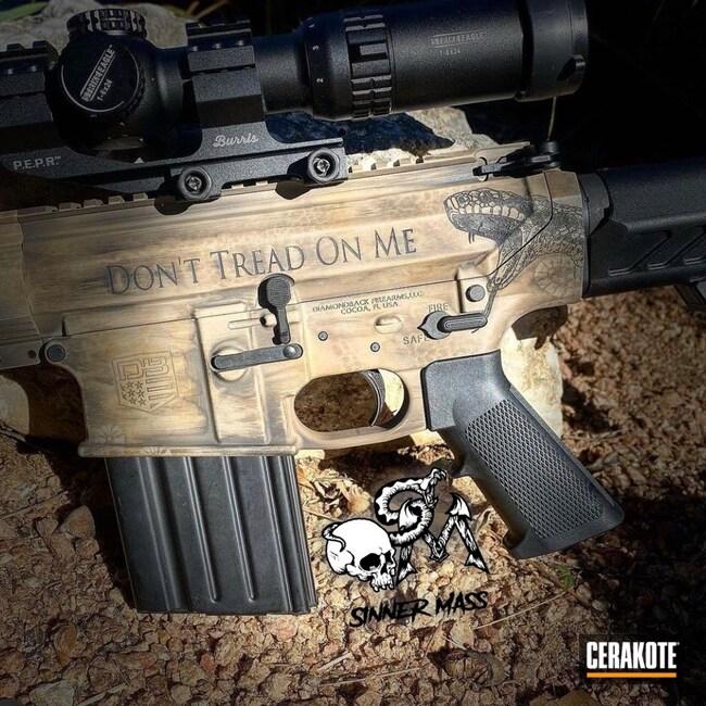 Cerakoted: S.H.O.T,Rifle,Distressed,AR-15 Pistol,Laser Engrave,.308,Custom Camo,Noveske Tiger Eye Brown H-187,Desert Camo,AR Pistol,AR-10,MCMILLAN® TAN H-203,GLOCK® FDE H-261,Custom Cerakote,Custom AR,AR-15