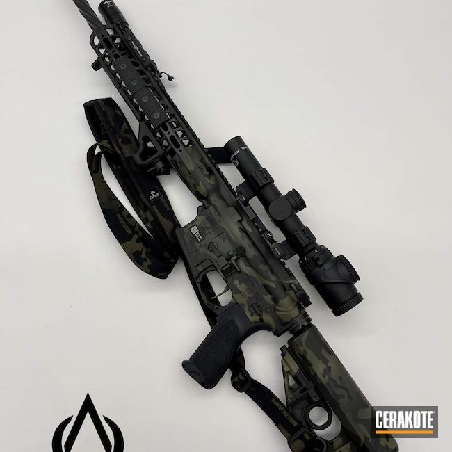 Cerakoted: S.H.O.T,M6IC,Sniper Green H-229,Graphite Black H-146,Battle Rifle,Trijicon,SIG™ DARK GREY H-210,.223 Wylde,LWRC