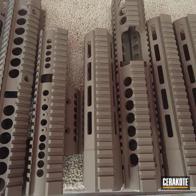 Cerakoted: S.H.O.T,Handguard,Handguards,Flat Dark Earth H-265,AR Build,AR-15