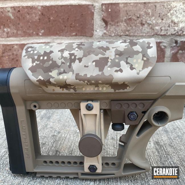 Cerakoted: S.H.O.T,Bolt Action Rifle,Coyote Tan H-235,FS BROWN SAND H-30372,Desert Sand H-199,Custom Gun,Long Range,BENELLI® SAND H-143,Camouflage,Custom Camo,GLOCK® FDE H-261